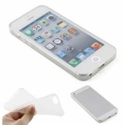 ультратонкий силиконовый чехол 0,3мм iphone 5/5s