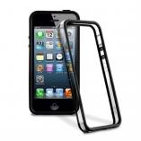 Бампер с прозрачной вставкой IPhone 5/5s