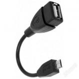 Кабель OTG  microUSB(п)/USB(м)