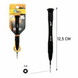 Отвертка для точных работ 658 (PL 0.8x25mm)