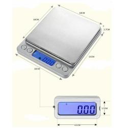 кухонные весы i-2000 0,1*2000гр.