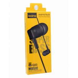 Наушники с микрофоном REALME Q33 (черный)