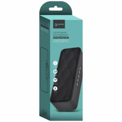 Колонка BLUETOOTH DRM-S211-01 (FM, AUX, microSD, USB) черный
