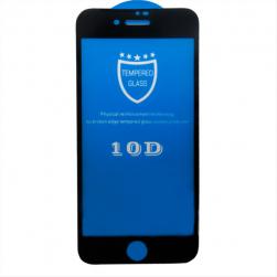 Защитное стекло для i7/ i8 PLUS 10D черный