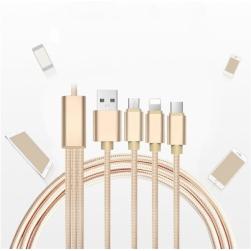 кабель зарядки 3 в 1