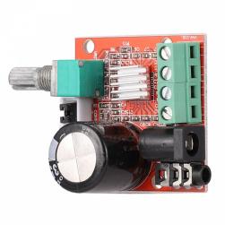 Цифровой усилитель PAM8610 (2*10Вт, 8-12в)