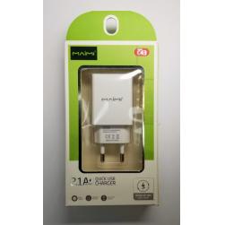 Сетевой адаптер питания Maimi C43 2.1A (белый)