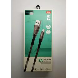 Кабель USB - MicroUSB Maimi X28 3A (черный)