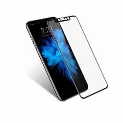 Защитное стекло 5D iPhone XS Max (черное)