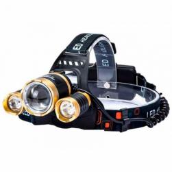 Фонарик налобный LED  kj-6867