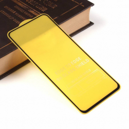 Защитное стекло Samsung A51 (черный) 9D тех.упаковка