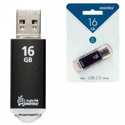 16GB USB V-CUT черный SMARTBUY