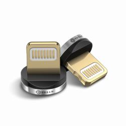 Коннектор LIGHTNING (для магнитного кабеля) серебро