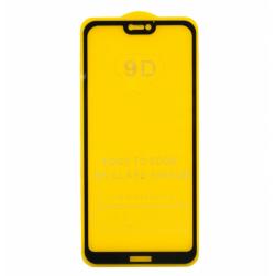 Защитное стекло Huawei P20 Lite (черный) 9D тех. упаковка