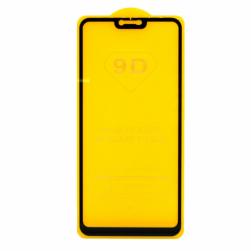 Защитное стекло Xiaomi Mi 8 Lite (черное) 9D тех.упаковка