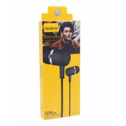 Наушники с микрофоном REALME Q36 (черный)