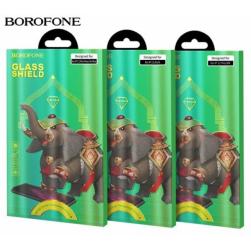 """Защитное стекло BOROFONE iPhone 12/12Pro 6.1"""" (черный) 10D"""