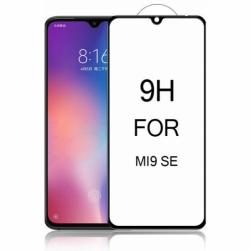 Защитное стекло Xiaomi Mi 9SE (черное) 9D тех.упаковка