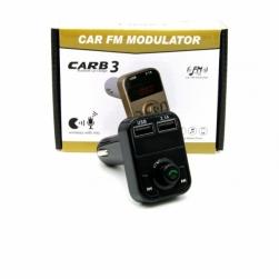FM-трансмиттер - CARB3 Bluetooth (черный)