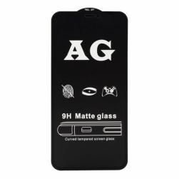 Защитное стекло iPhone X/XS/11 PRO (черный) Matte тех.упаковка