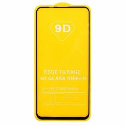 Защитное стекло Honor 9A (черный) 9D тех.упаковка