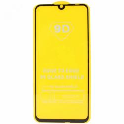 Защитное стекло Xiaomi RedMi Note 9 (черный) 9D тех.упаковка