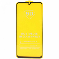 Защитное стекло Xiaomi RedMi Note 9S (черный) 9D тех.упаковка