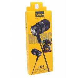 Наушники с микрофоном REALME Q34 (черный)