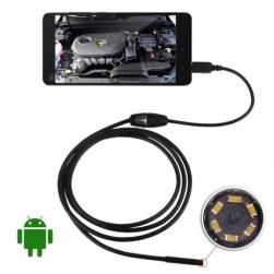 эндоскоп micro-usb камера для android 2 метра