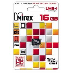 Mirex microSDHC 16 ГБ [13613-ADSUHS16]