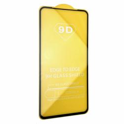 Защитное стекло Samsung A01 (черный) 9D тех.упаковка