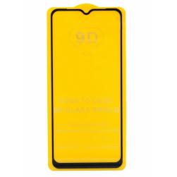 Защитное стекло Samsung A12 (черный) 9D тех.упаковка