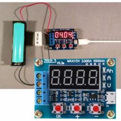 ZB2L3 Тестер емкости аккумуляторов 1.2-12В