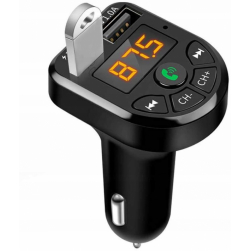 Автомобильный FM-трансмиттер - CARE5 Bluetooth (черный)