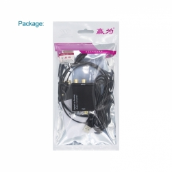 цифро-аналоговый аудио конвертер (оптика, коаксиал на аналог)