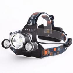 Фонарик налобный LED 3xT6