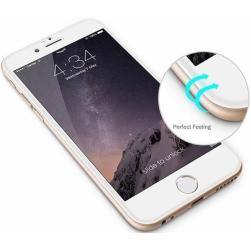 защитное стекло 5d iphone 6/6s (белое)