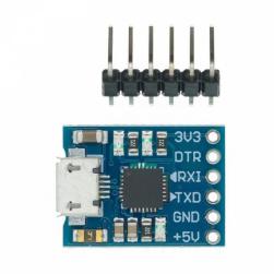 Конвертер microUSB - UART TTL на чипе CP2102