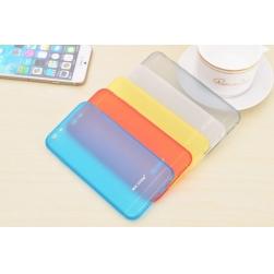 nx тонкий силиконовый чехол iphone 6/6s