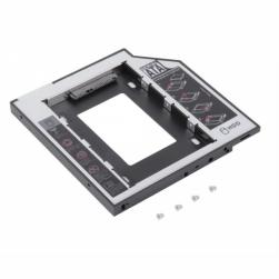 адаптер для установки жесткого диска в отсек dvd ноутбука 12.5mm