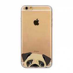 силиконовый чехол iphone 6/6s морды
