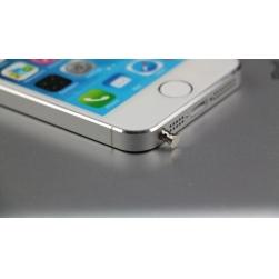 заглушка 3.5мм от пыли для iphone 5/5s/6 металл