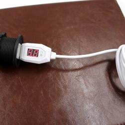 кабель micro-usb/usb с жк дисплеем