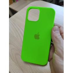 Чехол silicone case на iphone 12/12Pro (под оригинал)