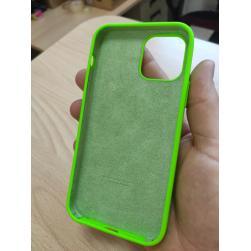 Чехол silicone case на iphone 12 mini (под оригинал)