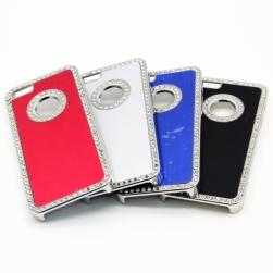 luxury bling aluminum hard case iphone 5/5s