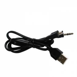 кабель для портативных колонок (usb+миниusb+3.5мм)