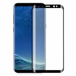 Защитное стекло Samsung S10 (черный) полная проклейка