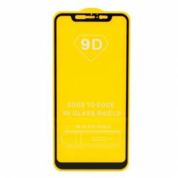 Защитное стекло Xiaomi Mi 8/8 pro (черное) 9D тех.упаковка