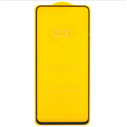 Защитное стекло Samsung A80 (черный) 9D тех.упаковка